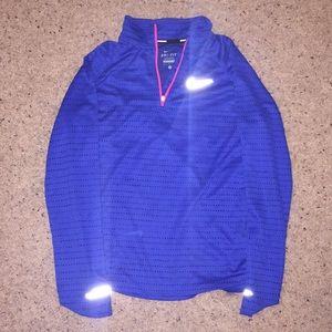 BARLEY WORN: Nike Zip-Up